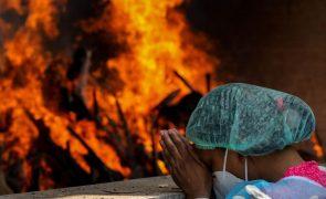 Covid-19: Índia ultrapassa 25 milhões de casos e regista novo recorde de mortes