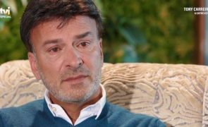Tony Carreira revela conversa privada com a filha sobre novela da TVI