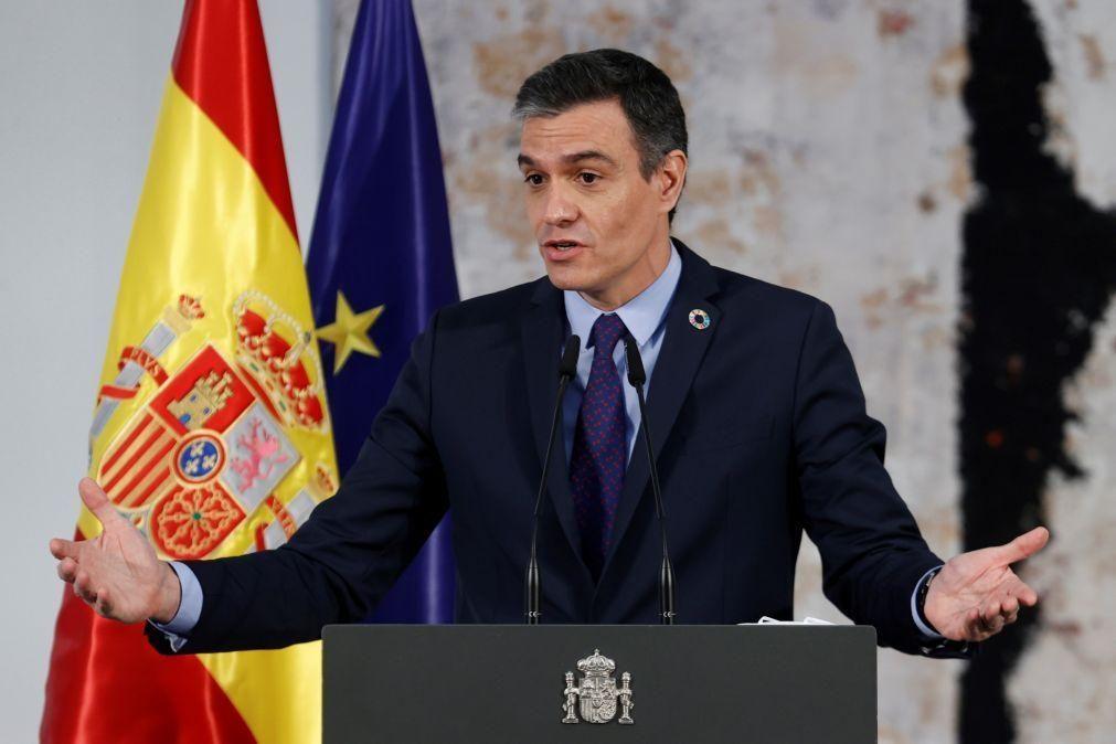 Espanha será firme a restabelecer a ordem na fronteira com Marrocos - Sánchez