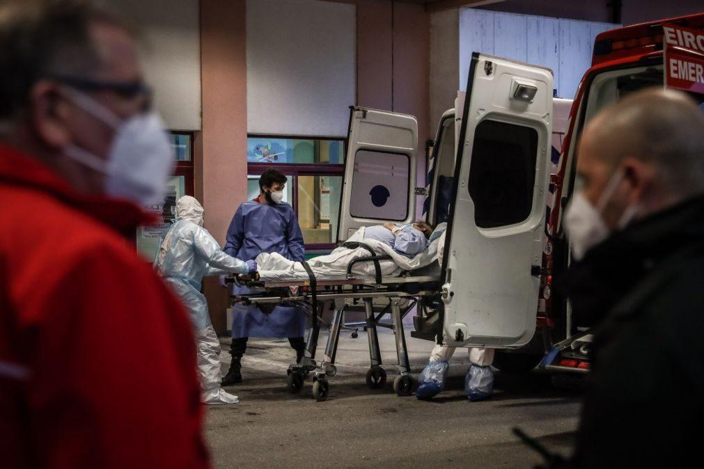 Covid-19: Duas mortes, 386 novas infeções e menos internados nas últimas 24 horas