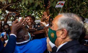 PR/Guiné-Bissau: Marcelo defende presidência lusófona da CEDEAO e espera que Sissoco valorize a CPLP