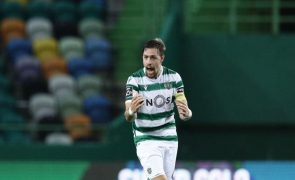 Sebastián Coates eleito melhor jogador do mês de abril da Liga NOS