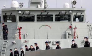 Navio patrulha português inicia na quinta-feira cooperação com marinha cabo-verdiana