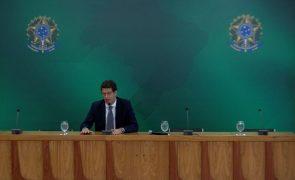 Ministro do Ambiente do Brasil alvo de operação contra venda ilegal de madeira