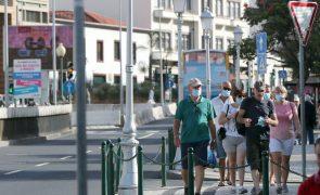 Covid-19: Madeira com 15 novos casos e 12 recuperados nas últimas 24 horas