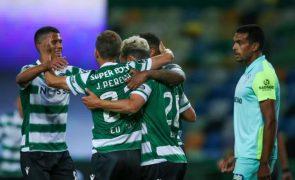 Campeão Sporting goleia Marítimo e Pedro Gonçalves é o melhor marcador [vídeo]