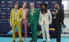 Eurovisão: Portugal compete hoje por lugar na final com The Black Mamba