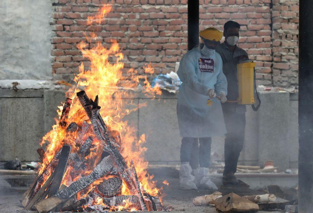 Covid-19: Índia com menos de 4.000 mortos nas últimas 24 horas