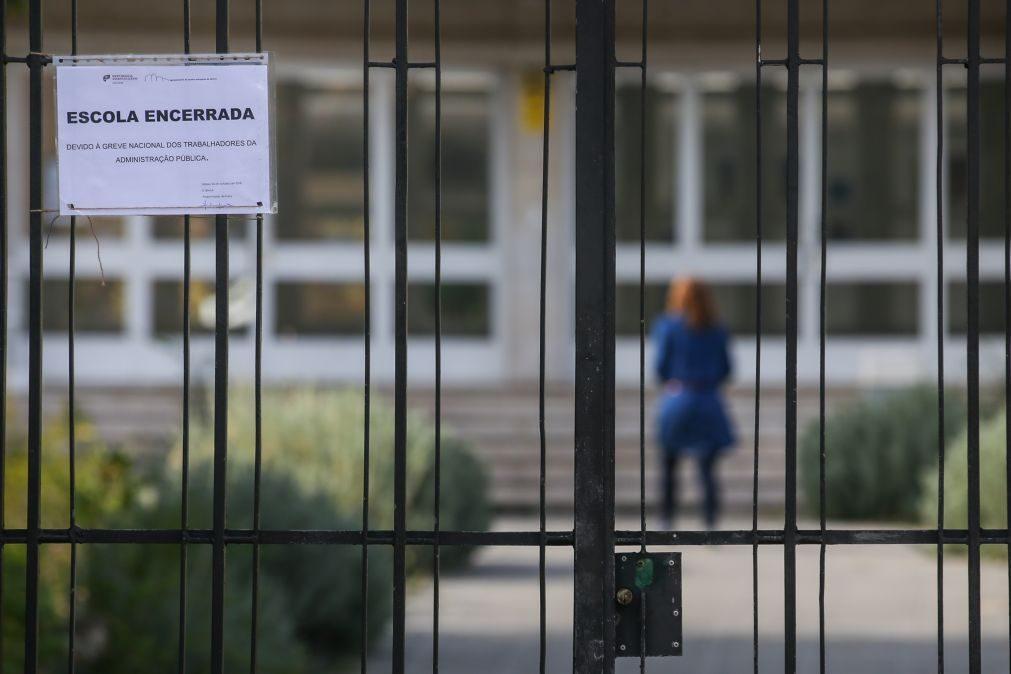 Greve da função pública fecha várias escolas no país