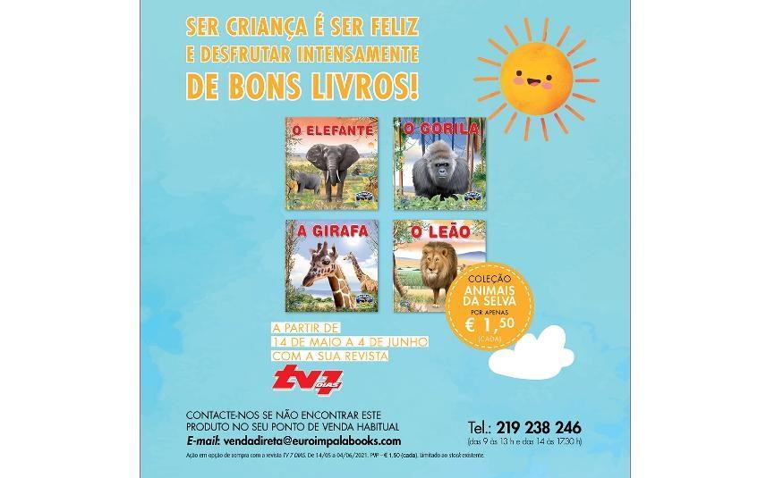 Dia Mundial da Criança - Col. Animais da Selva