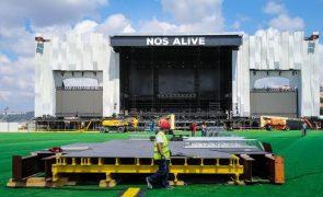 Covid-19: Festival NOS Alive em Oeiras adiado para 2022