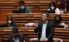 OE2021: PCP acusa Governo de bloquear execução e recusa para já discutir o próximo Orçamento