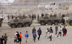 Cerca de 6.000 imigrantes ilegais em Ceuta já regressou a Marrocos