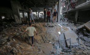 Mais cinco palestinianos mortos em Gaza e total passa para 232
