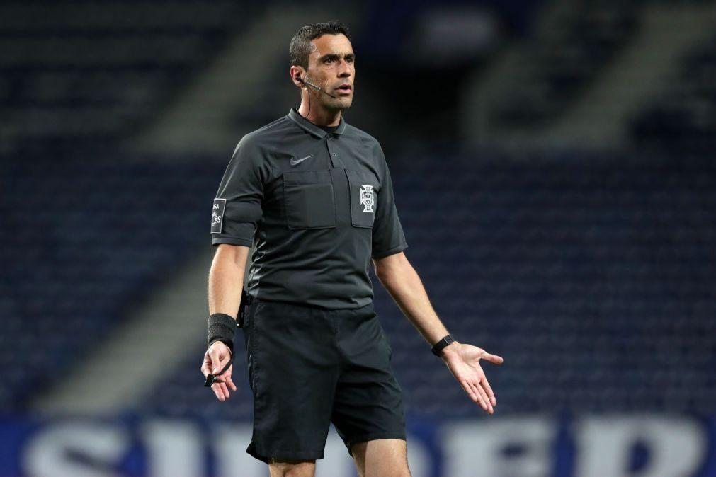 Nuno Almeida é o árbitro da final da Taça de Portugal entre Braga e Benfica