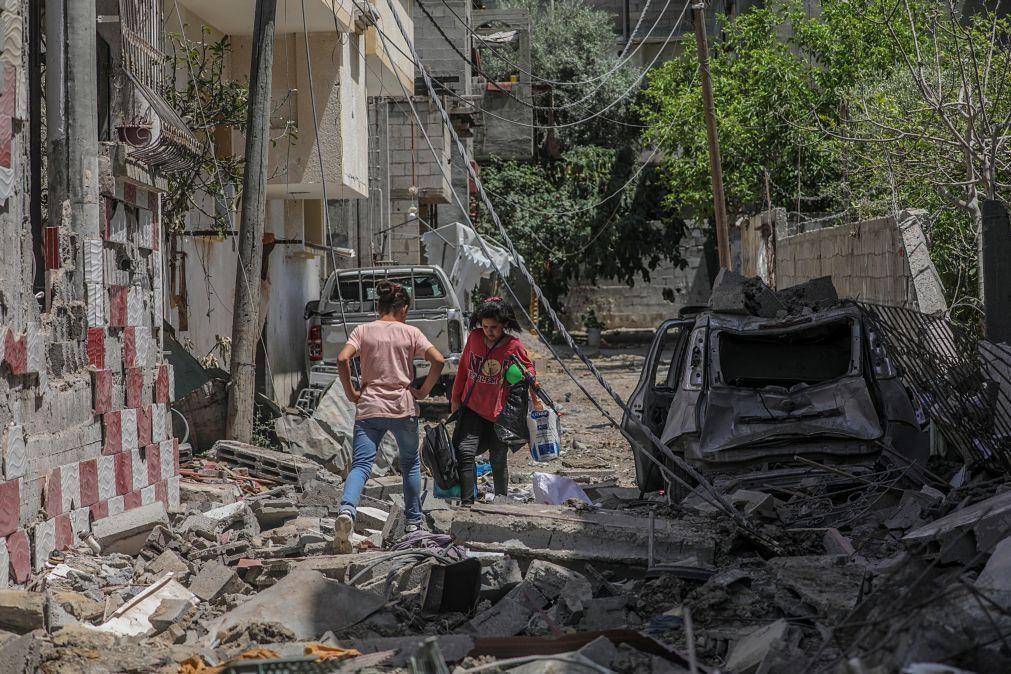 Delegações egípcias já monitorizam cessar-fogo no conflito israelo-palestiniano