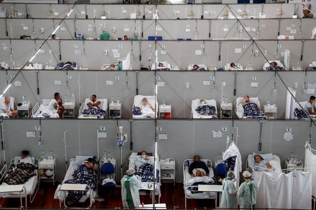 Covid-19: Casos graves de síndrome respiratória voltam a subir no Brasil