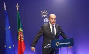 UE/Presidência: Siza Vieira defende entendimento UE-EUA para taxar gigantes digitais
