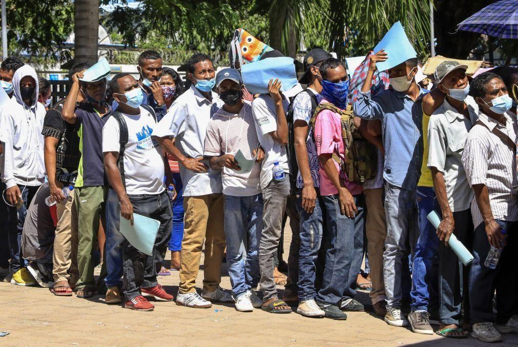 Covid-19: Timor-Leste regista mais 188 casos de infeção em 24 horas