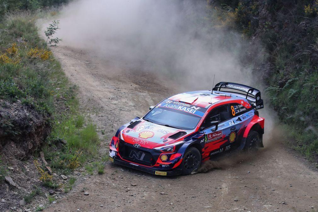 Rali de Portugal: Tanäk alarga vantagem após vencer as três especiais da manhã
