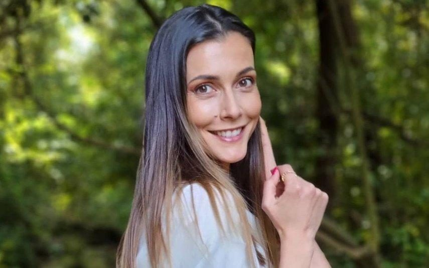Cláudia Borges conta história de quando o filho conheceu irmã mais nova