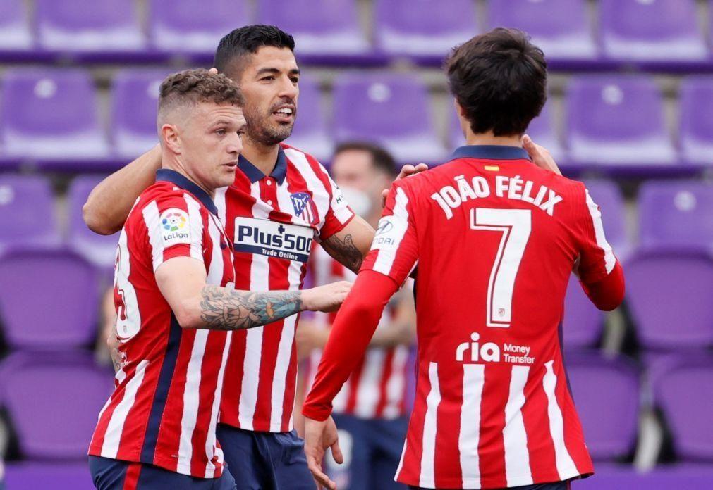 Atlético de Madrid campeão espanhol pela 11.ª vez