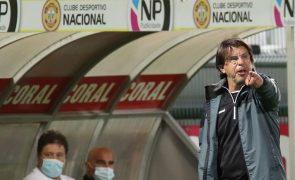 Manuel Machado de saída do comando técnico do Nacional