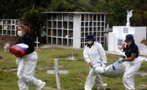 Covid-19: Pandemia já levou à morte 3,456 milhões de pessoas no mundo