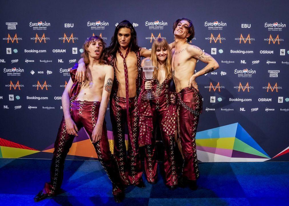Eurovisão 2021 foi líder de audiências com quatro milhões de espetadores