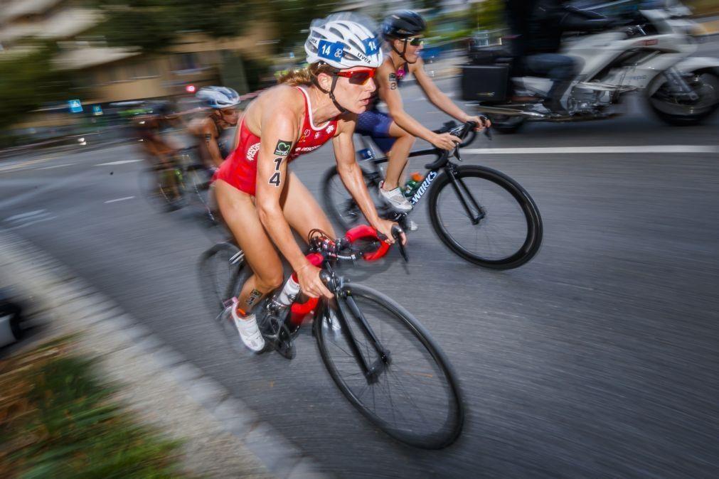 Suíça Nicola Spirig vence Taça do Mundo de triatlo de Lisboa
