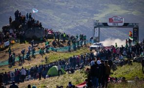 Rali de Portugal: André Villas-Boas concretiza sonho do salto de Fafe