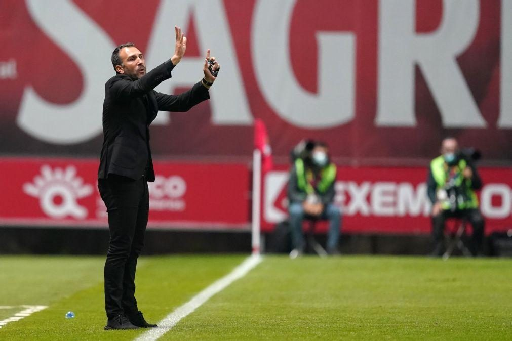 Sérgio Vieira é o novo técnico do Nacional