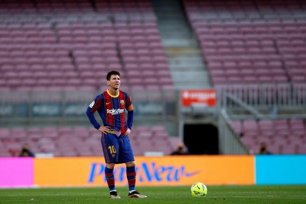 Lionel Messi bate recorde de Gerd Müller, com oitavo título de melhor marcador