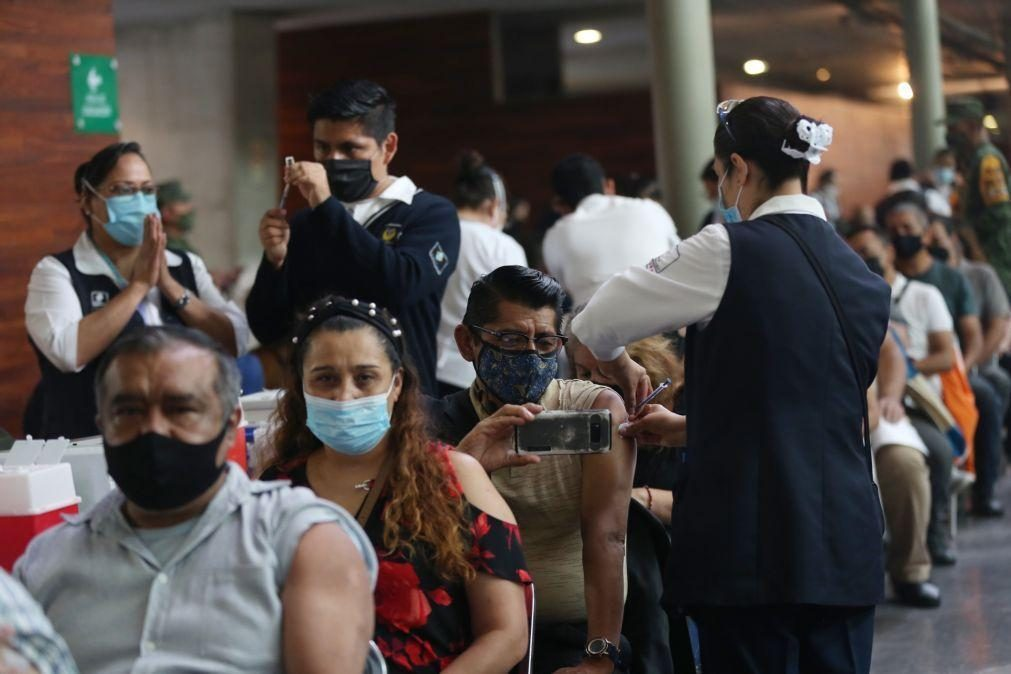 Covid-19: México com 50 mortos num dia, valor mais baixo em mais de um ano