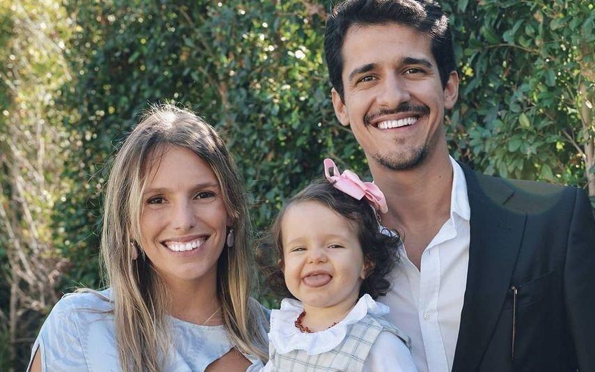 Isaurinha Jardim celebra batismo da filha entre família e amigos [fotos]
