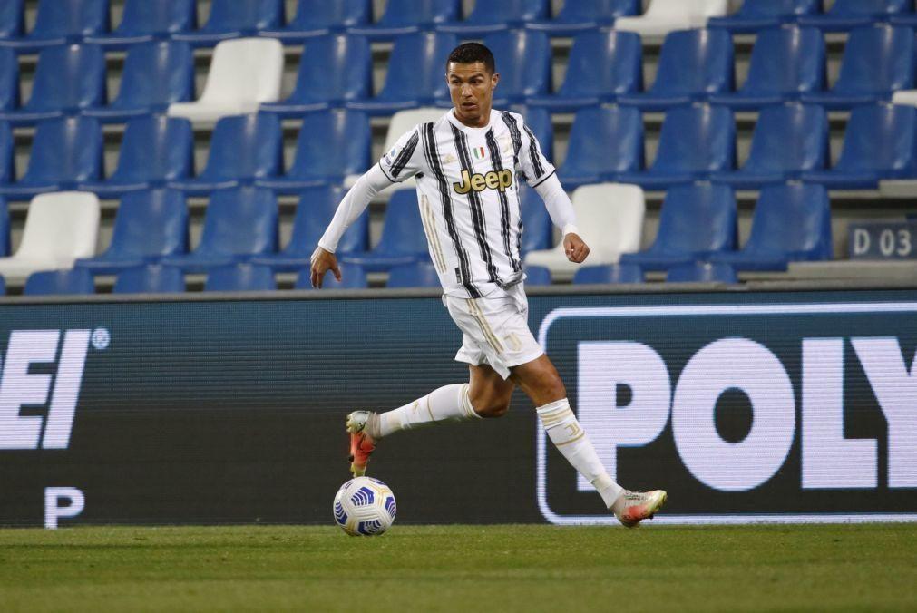 Ronaldo eleito melhor jogador da Juventus pelos adeptos em 2020/21