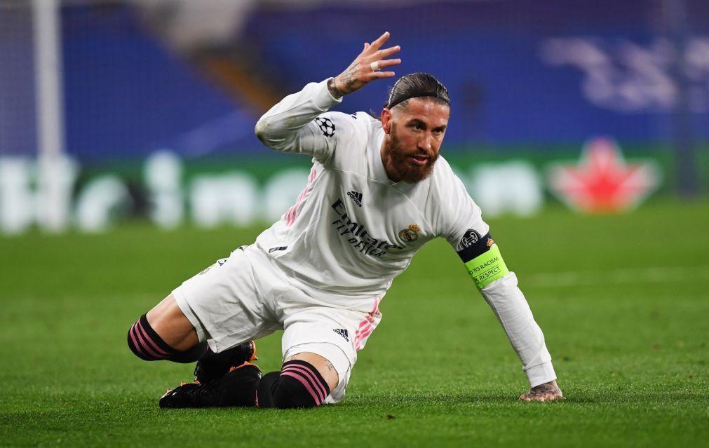 Euro2020: Espanha sem Sergio Ramos e pela primeira vez sem jogadores do Real Madrid