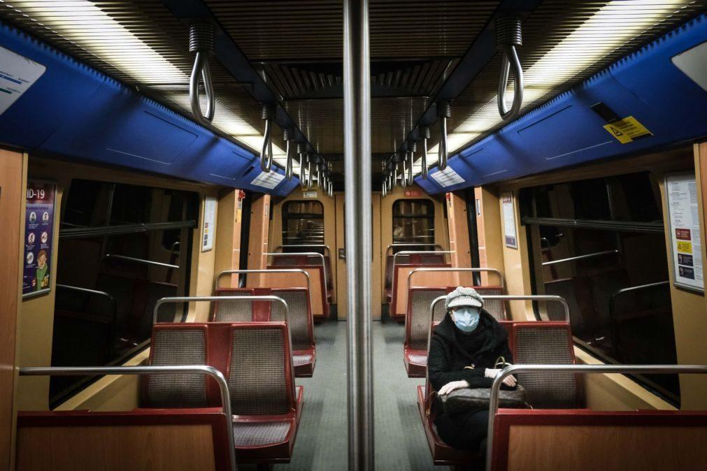 Greve parcial deve deixar Lisboa sem metro até às 10:15 de terça-feira
