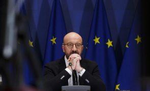 UE/Cimeira: Michel classifica desvio de voo como