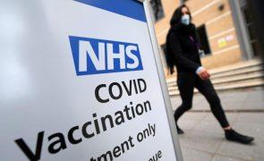 Covid-19: Reino Unido registou três mortes nas últimas 24 horas