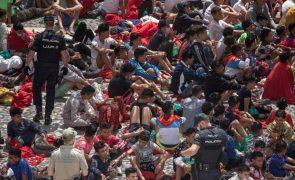 Mais de 800 menores marroquinos ainda em Ceuta aguardam resolução da sua situação