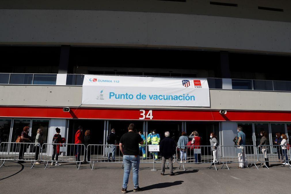 Covid-19: Espanha regista 11.067 novos casos e 91 mortes desde sexta-feira