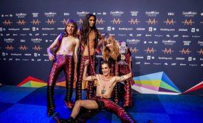 Organização garante que vocalista dos Måneskin não se drogou no Festival Eurovisão