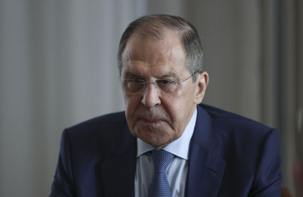 Chefe da diplomacia russa reafirma disponibilidade de Moscovo para dialogar com UE