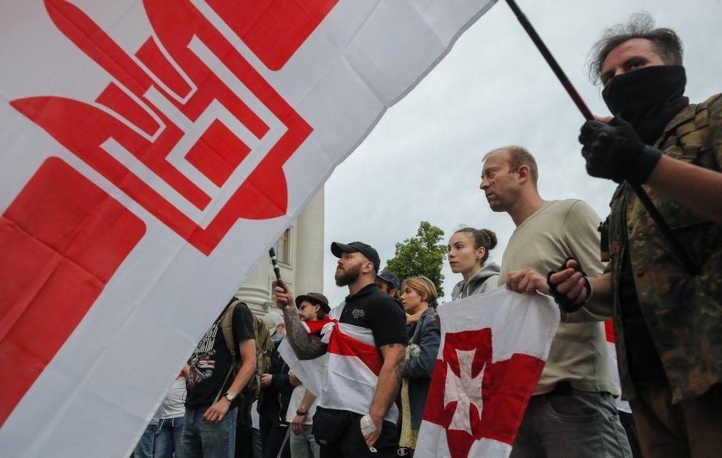 Bielorrússia: Ministério do Interior diz que opositor está numa prisão em Minsk