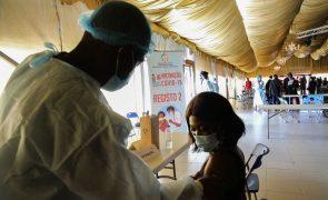 Covid-19: Angola regista 182 novas infeções e seis óbitos nas últimas 24 horas