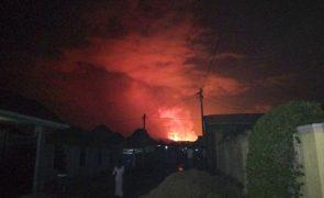 Pelo menos 23 mortes na RDCongo devido a erupção do vulcão Nyiragongo
