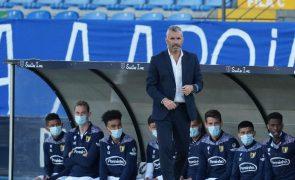 Treinador Ivo Vieira renova com o Famalicão até 2023