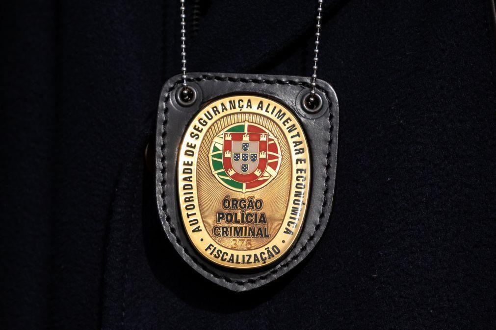 ASAE desmantela unidade ilegal de produção de suplementos alimentares em Santa Comba Dão