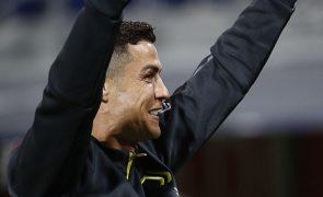Cristiano Ronaldo congratula-se por tudo o que atingiu em Itália e elogia Inter